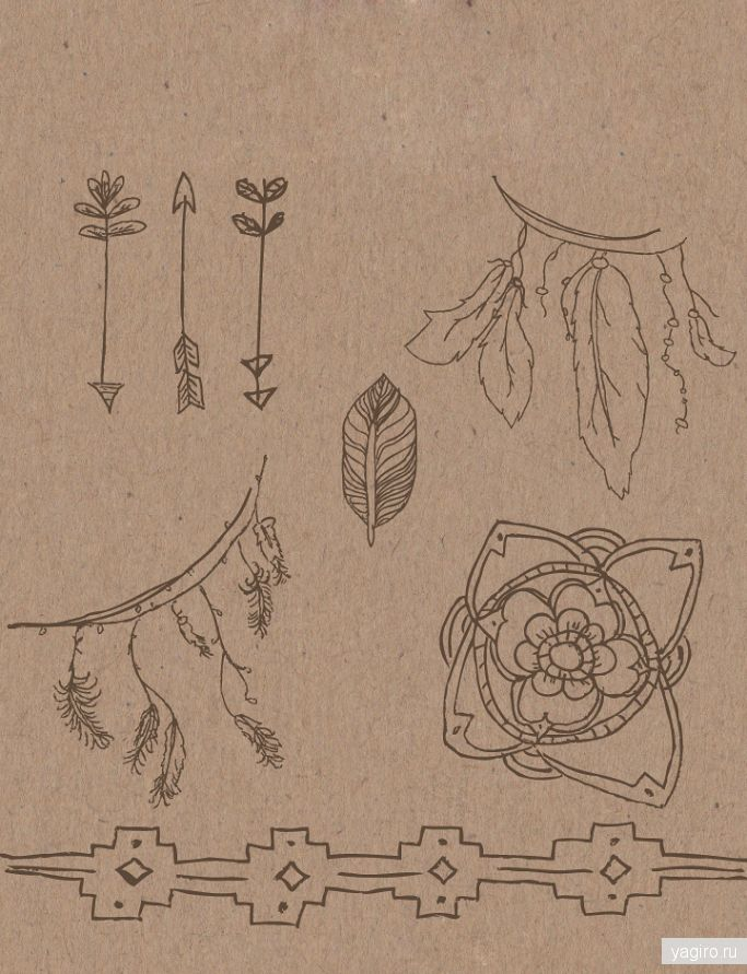 Элементы в стиле BOHO / Разное / Yagiro - сайт о дизайне и для дизайнеров
