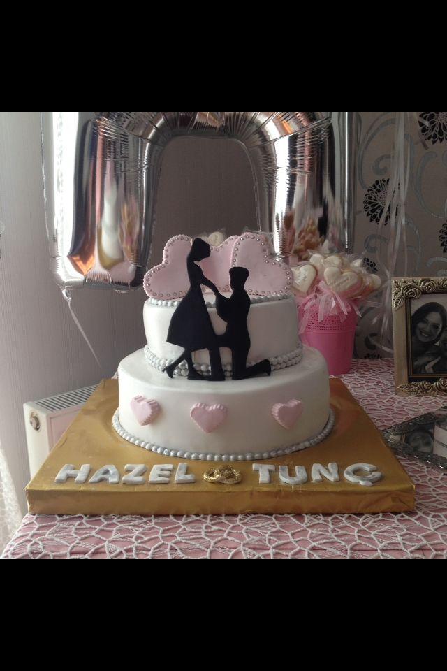 Nişan pastamız...