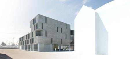 A2O ARCHITECTEN wint internationale architectuurwedstrijd voor nieuwe scholencampus in Hasselt / BOYDENS