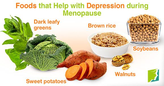 Foods good for menopause