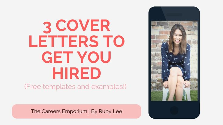 3 cover letter examples to get you hired faster! Gone are the days of structured letters. Employers want fun and engaging content to read to understand your purpose and personality. Enjoy the read my friends!