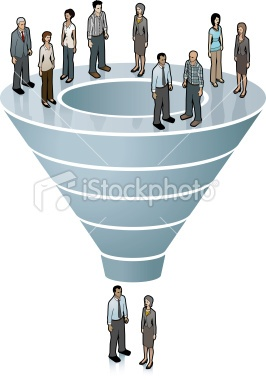 Sales Funnel Image Royalty Free Stock Vector Art Illustration