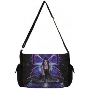 Immortal Flight Fairy Messenger Bag by Anne Stokes - New at GothicPlus.com - your source for gothic clothing jewelry shoes boots and home decor.  #gothic #fashion #steampunk