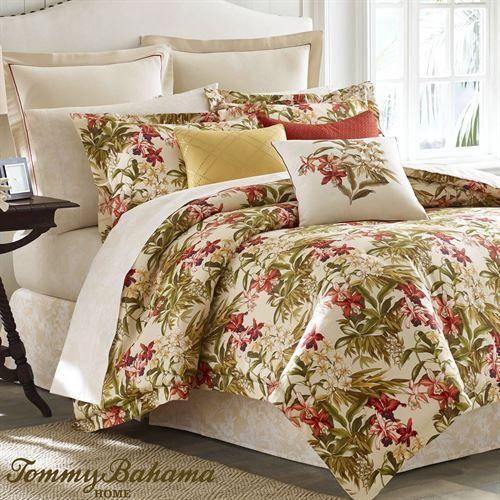 Daintree Tropics Comforter Set Cream