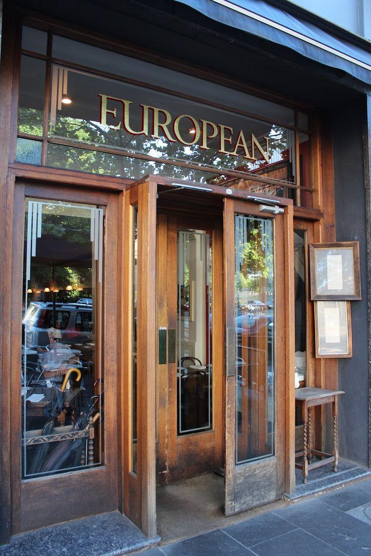 European Cafe Melbourne - favourite Melbourne cafe