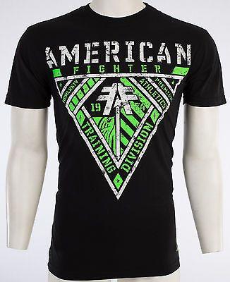 American Fighter Affliction Hombre Camiseta Aberdeen Tatuaje Biker Gimnasio Mma Ufc $40