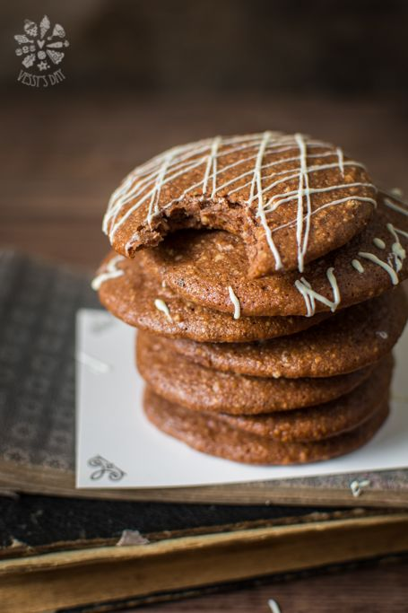 Soft Almond Cookies from vessysday  #recipe