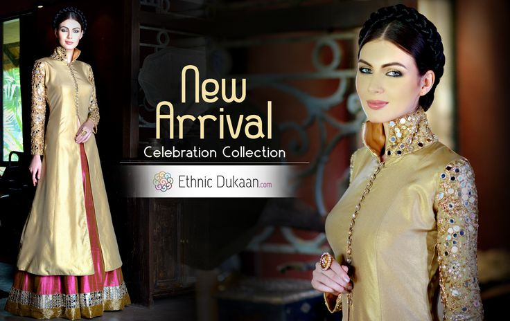 Our Spotlight Vendor Ethnic Dukaan offers the choicest collection of women's ethnic wear in Sarees, Salwar Suits, Kurtis, Bridal Lehengas & accessories. www.ethnicdukaan.com