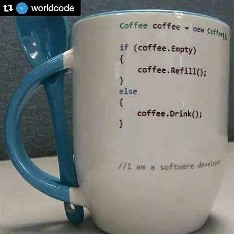Coffee Class #programmingHumor