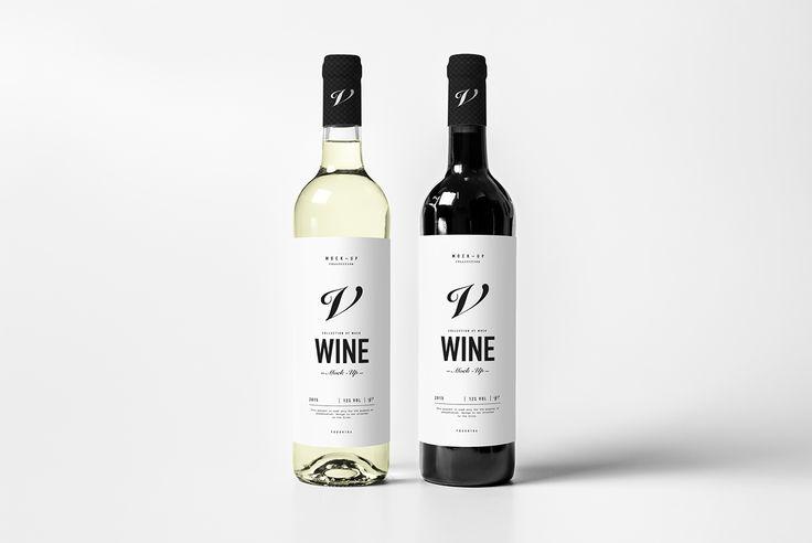 Wine Bottle Mock-up on Behance