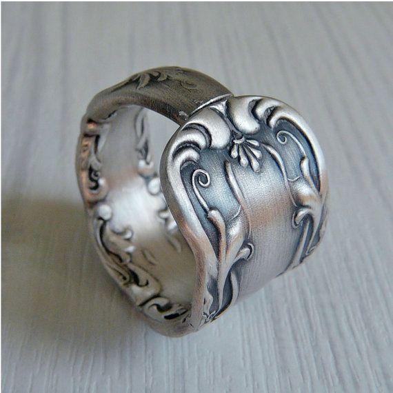 Amazing Re purposed Spoon Ring Genius