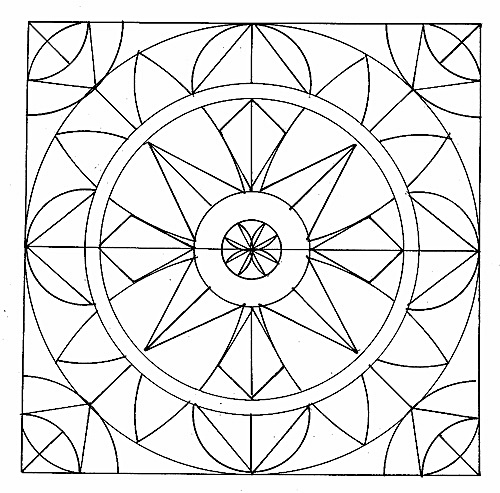 fractal coloring pages for kids - photo#46