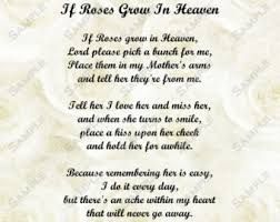 A Friend In Heaven Poem Mother Poems Funeral Poems Mom Poems
