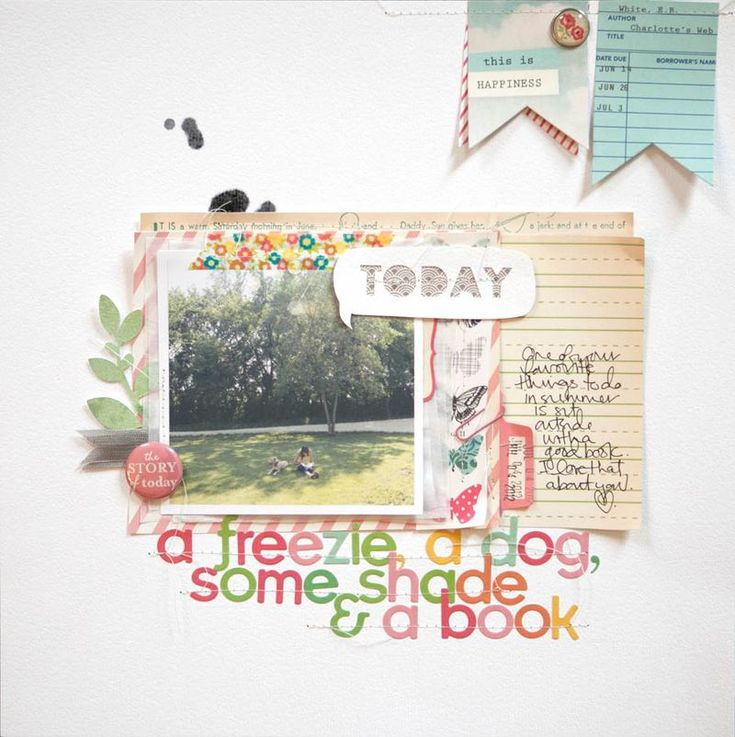 Marcy Penner: Nice Colour, Sketch, Books October, Color, Layout Scrapbook, Scrapbook Layout, Books Layout, A Scrapbook, Woodland Parks