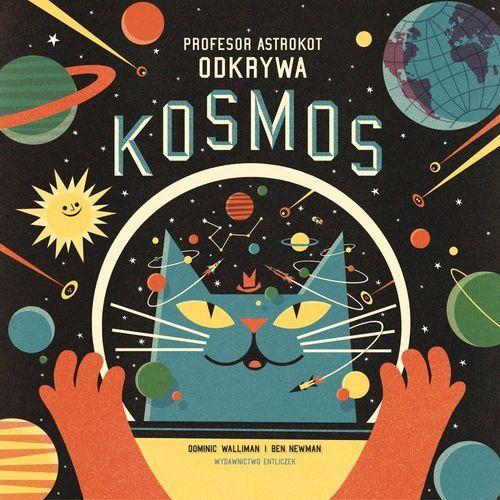 Profesor Astrokot odkrywa kosmos - książki dla dzieci | ambelucja.pl