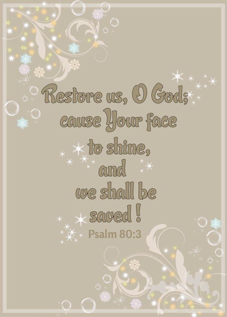 Psalm 80:3