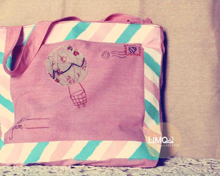 Envelope | 65K | bahan: belacu, katun, cat acrylic | check this limo-made.blogspot.com #handmade #totebag #limitededition #semarang #indonesia #limomade