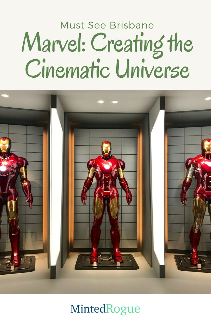 Brisbane's GOMA is currently hosting the world first Marvel: Creating The Cinematic Universe exhibition - check out all the best bits and see why it's definitely worth the trip!