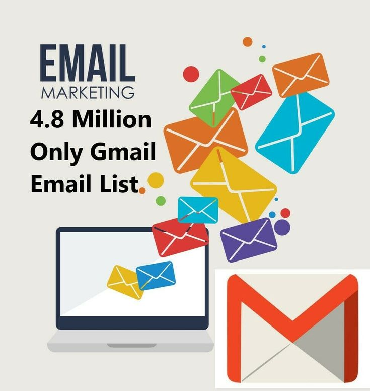 48 million gmail only consumer email list email list