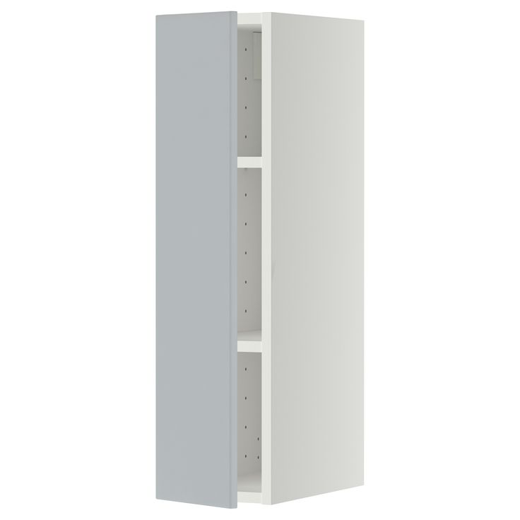 Best Metod Wall Cabinet With Shelves White Veddinge Grey Ikea 400 x 300