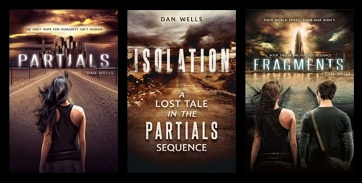 11. #Partials - 13 Book Series to Read if You Loved the #Hunger Games ... → #Movies #Series