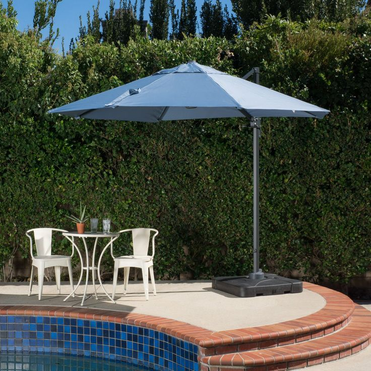 Best Selling Home Decor Furniture Lily 8 ft. Cantilever Patio Umbrella