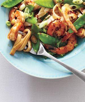 Shrimp Lo Mein: Healthy Meals, Realsimple, Simple Recipe, Chinese Food, Lo Mein, Shrimp Lo, Real Simple, Snow Peas