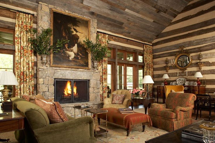 Cute cabin!  Architectural Digest : Architecture - Interiors - Gardens : JEFF HERR PHOTOGRAPHY