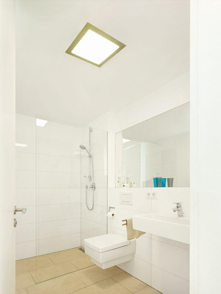 g ste bad wc mit ca 3qm wird mit einem vav led panel. Black Bedroom Furniture Sets. Home Design Ideas
