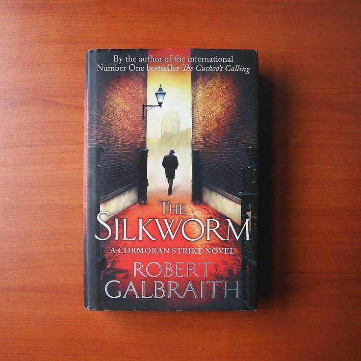 The Silkworm by Robert Galbraith.