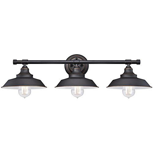 Bathroom Lighting Fixtures Black best 25+ farmhouse vanity lights ideas only on pinterest | rustic