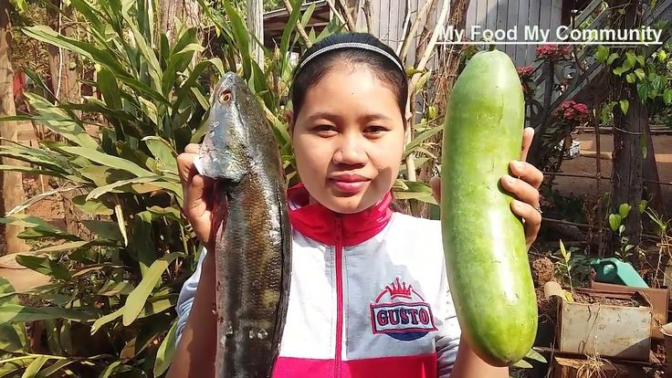 Awesome Cooking Healthy Fish & Wax Gourd Vegetable Recipe - Cook Fish Re...