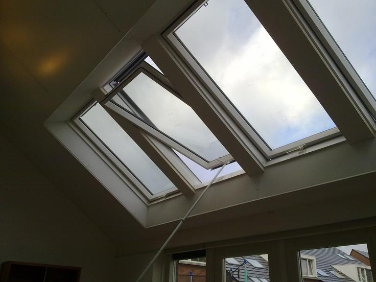 48 best lichtstraten van dakramen dakramen skylights dachfenster images on. Black Bedroom Furniture Sets. Home Design Ideas