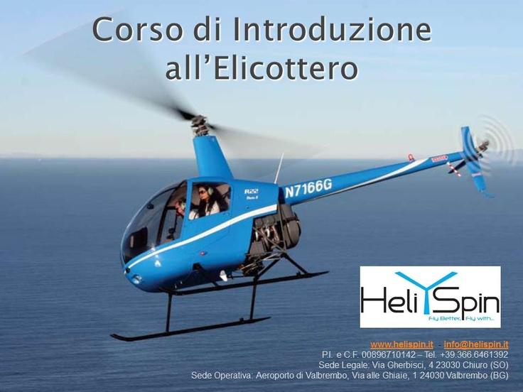Corso di Introduzione all'Elicottero