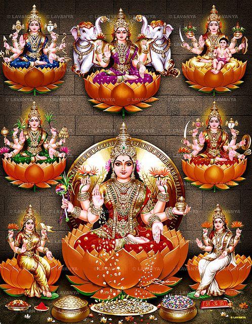Album No. - 244 Asta Lakshmi   Contact us for devotional Pic…   Flickr