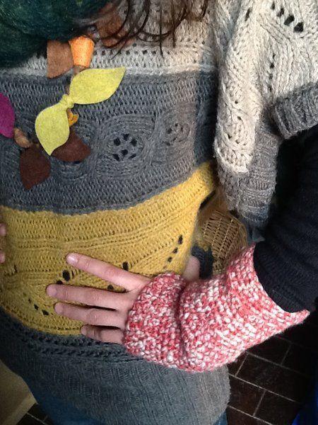 Guanti, mezziguanti, muffole, mittens all'uncinetto in lana, cotone, alpaca personalizzabili come misura, motivo, colore e decorazione.  Fatti anche s