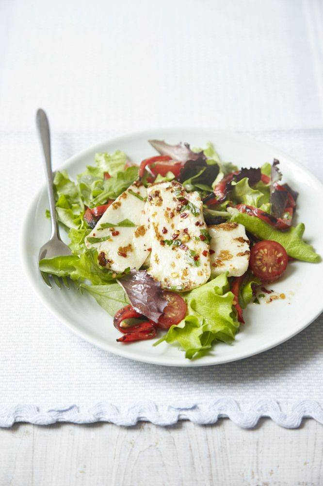 5:2 Bikini Diet Recipes Halloumi Salad