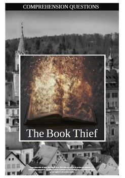 """This 6 page movie guide accompanies the movie """"The Book Thief"""" Part 1 There will be 37 comprehension questions in chronological order + extra questions"""