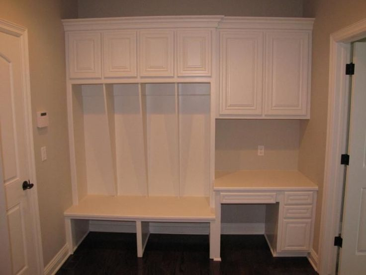 58 best mudroom drop zone organizing images on pinterest for Mudroom office