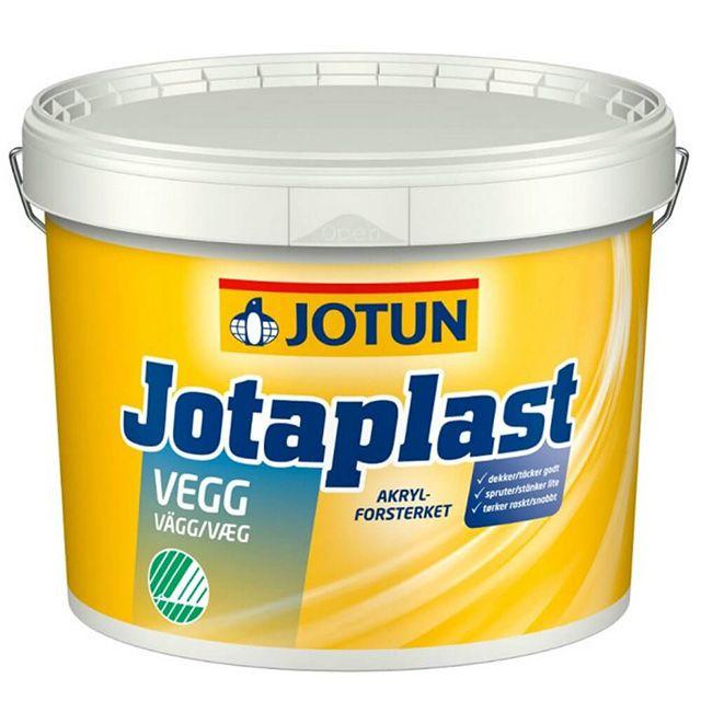 Jotaplast fra Jotun er en indendørs akrylforstærket PVA-maling, der ikke indeholder opløsningsmidler. Jotun er kendt for at fremstille god maling, og det kommer også til udtryk med denne prisvenlige vægmaling.  Med Jotaplast får du hurtigt malerarbejdet gjort. Malingen opfylder strenge krav til dækkeevne og vaskbarhed, og tørrer samtidig hurtigt.  Derudover er den mærket med Svanemærket og EU Blomsten. Det sikre at malingen er lugtsvag og fri for opløsningsmidler.  Jotaplast Vægmaling kan…