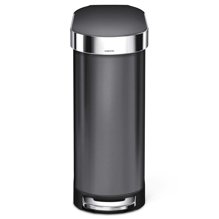 Best Simplehuman® Slim 45 Liter Step On Trash Can With Liner 640 x 480