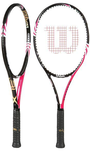 Raquetas en rosa