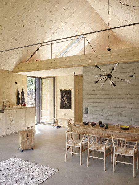 Die Besten 25+ Haus Am See Ideen Auf Pinterest Lagerhalle Loft   Esszimmer  Am See
