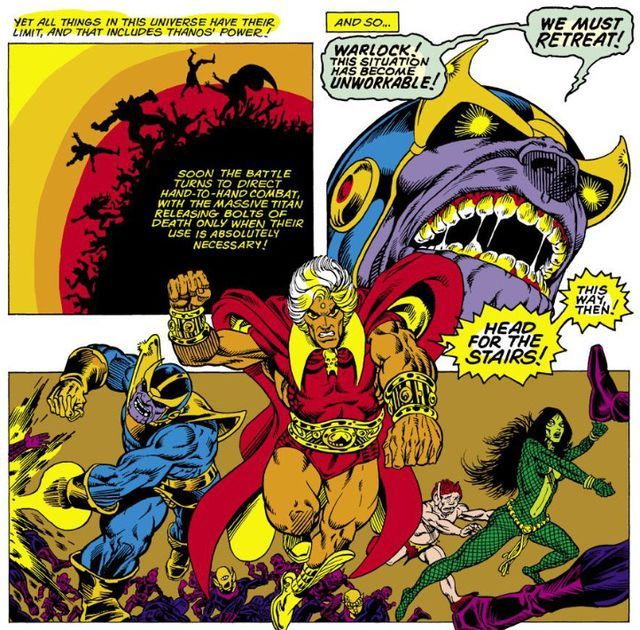 Jim Starlin's Warlock sets the standard for cosmic comics · For Our Consideration · The A.V. Club
