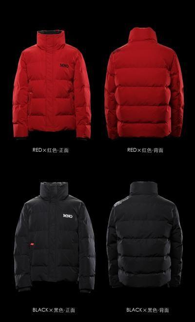 8523b067f SIMWOOD Winter New Slim Fit Short Puffer Jacket Men Stand Collar ...
