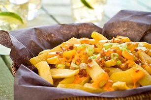 Frites à la tartinade de fromage CHEEZ WHIZ Jalapeno Tex Mex