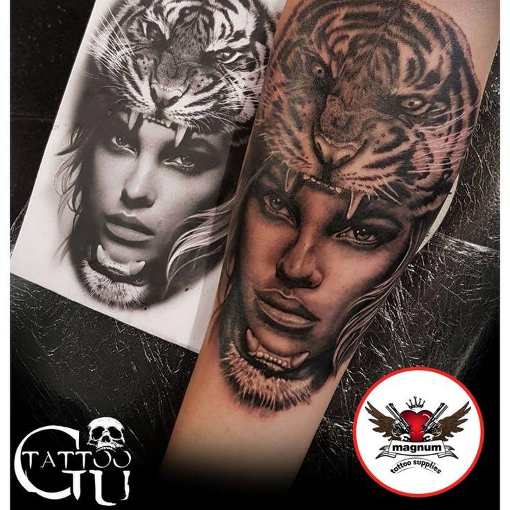 Fantastic custom forearm piece by Tattoos by Gavin Underhill