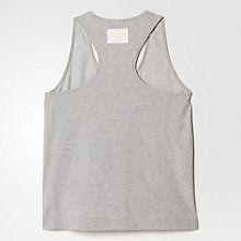Buy Adidas Stella McCartney Team GB Vest, Grey/Gold Online at johnlewis.com