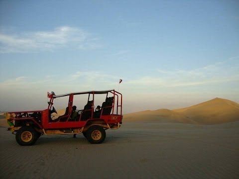 Huacachina, Peru—the oasis, and those crazy dune buggies