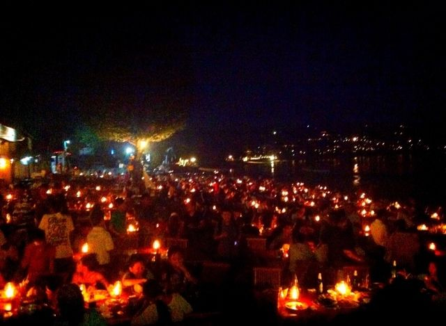 Night at jimbaran